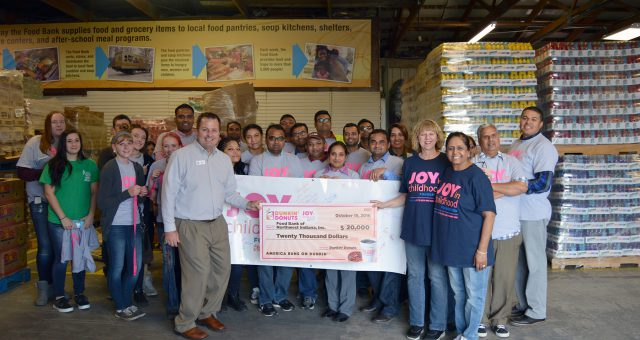 Dollars to Donuts, Dunkin' Makes a Difference in NWI