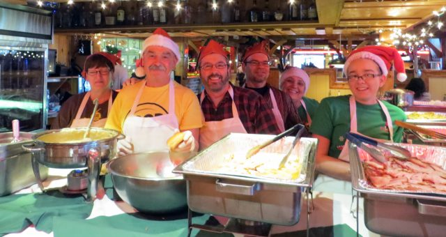 Texas Corral and the Food Bank Serve 1,000 on Christmas Day