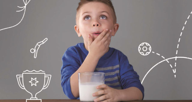 Feed a Childhood with Milk