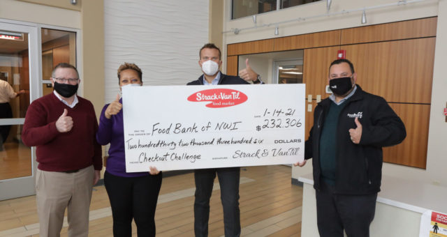 Strack & Van Til Customers Raise $232,306 Through Checkout Challenge